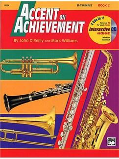 Accent On Achievement: B Flat Trumpet Book 2 Books | Trumpet