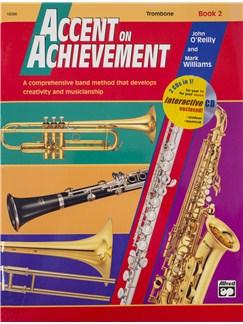 Accent On Achievement: Trombone - Book 2 (Book/CD) Books and CDs | Trombone