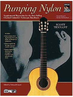 Pumping Nylon - Easy To Early Intermediate Repertoire (Book/CD) Books | Guitar