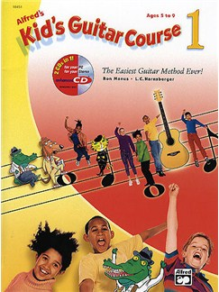 Alfred's Kid's Guitar Course - Book 1 (Book and CD-ROM) Books and CD-Roms / DVD-Roms | Guitar