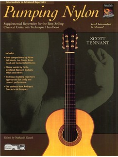 Pumping Nylon - Intermediate To Advanced Repertoire Books | Guitar