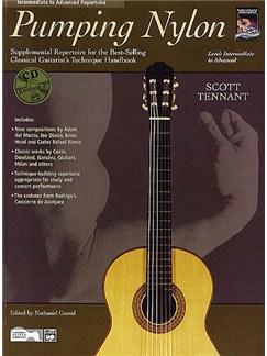 Pumping Nylon - Intermediate To Advanced Repertoire (Book/CD) Books and CDs | Guitar