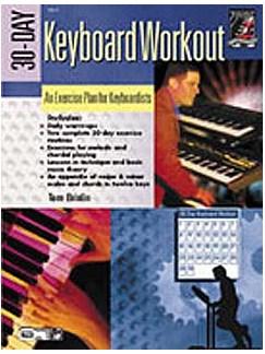 Tom Brislin: 30-Day Keyboard Workout Books | Piano
