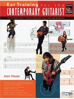 Ear Training For The Contemporary Guitarist (Book/CD) Books and CDs | Guitar