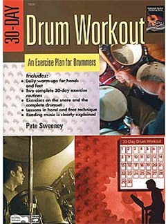 Pete Sweeney: 30 Day Drum Workout Books | Drums