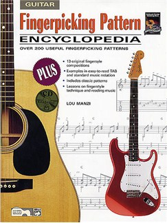 Lou Manzi: Guitar Fingerpicking Pattern Encyclopedia Books and CDs | Guitar