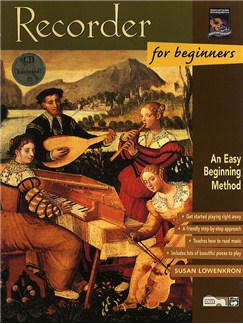 Recorder For Beginners (Book/CD) Books and CDs | Recorder