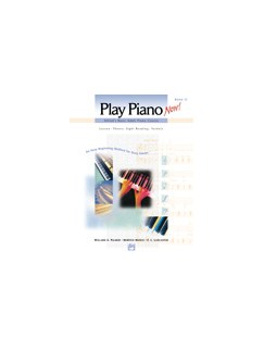 Alfred's Basic Adult Piano Course - Play Piano Now! Book 1 (Book/CD) Books and CDs | Piano