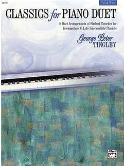 Classics For Piano Duet Book Two Books | Piano Duet