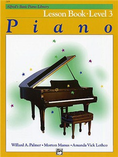 Alfred's Basic Piano Library: Lesson Book Level 3 Books | Piano