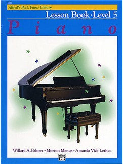 Alfred's Basic Piano Library: Lesson Book Level 5 Books | Piano