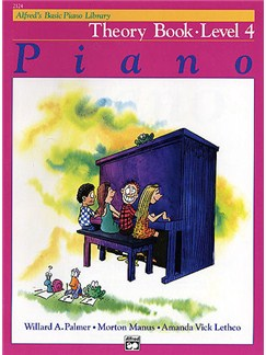 Alfred's Basic Piano Library: Theory Book Level 4 Books | Piano