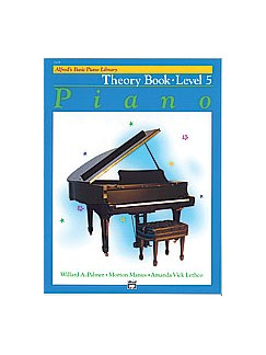 Alfred's Basic Piano Library: Theory Book Level 5 Books | Piano