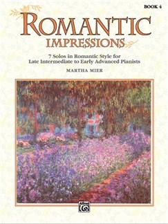 Martha Mier: Romantic Impressions - Book 4 Books | Piano