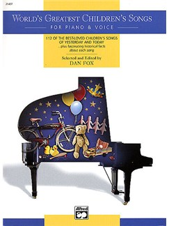 World's Greatest Children's Songs Libro | Piano, Voz y Guitarra