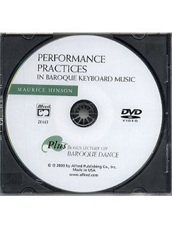 Performance Practices In Baroque Keyboard Music (DVD) DVDs / Videos | Piano, Harpsichord and Keyboard Instruments
