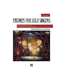 Encores For Solo Singers - Medium Low Voice Books | Low Voice, Piano Accompaniment