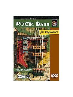 Joe Bouchard: Rock Bass For Beginners DVDs / Videos | Bass Guitar