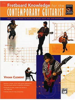 Fretboard Knowledge For The Contemporary Guitarist Books   Guitar