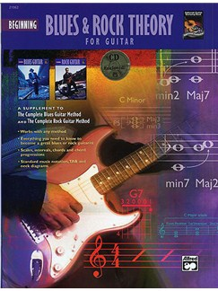 Blues & Rock Theory For Guitar (Book And CD) Books and CDs | Guitar