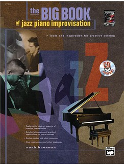 The Big Book Of Jazz Piano Improvisation Books and CDs | Piano