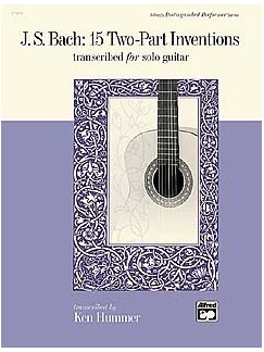 J.S. Bach: 15 Two-Part Inventions (Solo Guitar) Books | Guitar