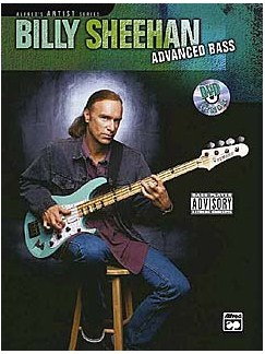 Billy Sheehan: Advanced Bass (Book And DVD) Books and DVDs / Videos | Bass Guitar