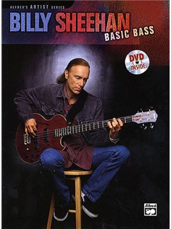 Billy Sheehan: Basic Bass (Book And DVD) DVDs / Videos y Libro | Bajo