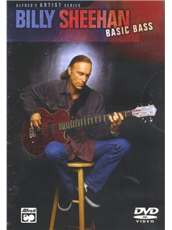 Billy Sheehan: Basic Bass (DVD) DVDs / Videos | Bass Guitar