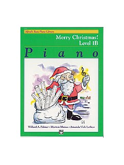 Alfred's Basic Piano Course: Merry Christmas! Book 1B Books |