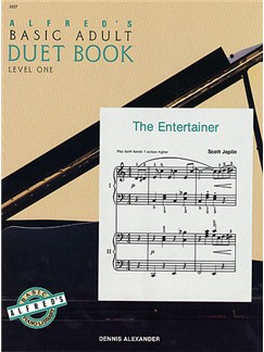 Alfred's Basic Adult Duet Book Level 1 Books | Piano Duet