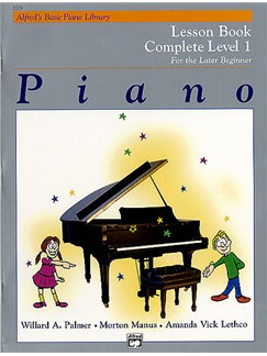 Alfred's Basic Piano Library Lesson Book Complete Level 1 Bog | Klaver solo