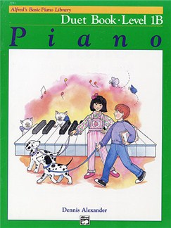 Alfred's Basic Piano Duet Book Level 1B Books | Piano Duet
