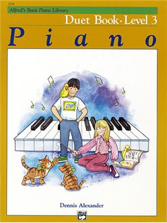 Alfred's Basic Piano Duet Book Lvl 3 Books | Piano Duet
