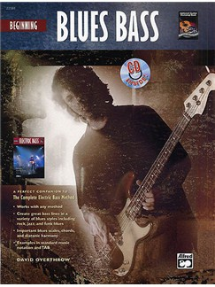 Beginning Blues Bass Books and CDs | Bass Guitar