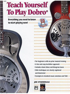 Joe Stoebenau: Teach Yourself To Play Dobro (CD Edition) Books and CDs | Dobro