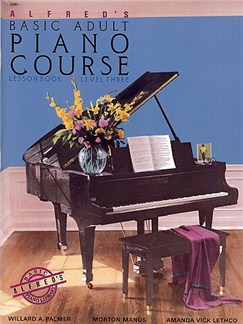Alfred's Basic Adult Piano Course: Lesson Book Level 3 Books | Piano