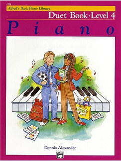 Alfred's Basic Piano Library Duet Book Lvl 4 Books | Piano Duet