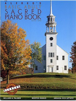 Alfred's Basic Adult Sacred Piano Book 1 Books | Piano, Voice