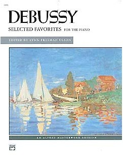 Claude Debussy: Selected Favorites Books | Piano