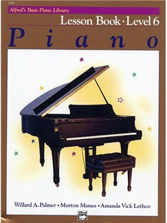 Alfred's Basic Piano Library: Lesson Book Level 6 Books | Piano