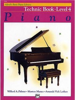 Alfred's Basic Piano Technic Book: Level 4 Libro | Piano