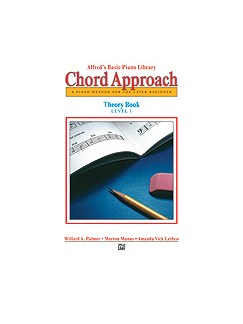 Alfred's Basic Piano: Chord Approach Theory Book 1 Books | Piano