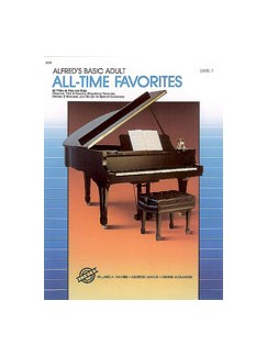 Alfred's Basic Adult Piano Course: All-Time Favorites Book 1 Books | Piano