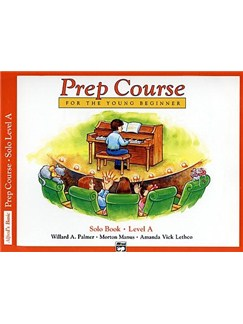 Willard A. Palmer/Morton Manus/Amanda Vick Lethco: Alfred Prep Course Solo Book - Level A Books | Piano