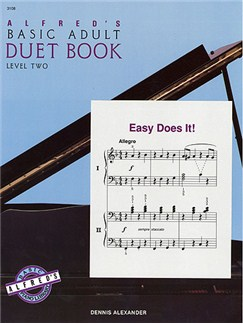 Alfred's Basic Adult Duet Book Level 2 Books | Piano Duet