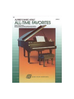 Alfred's Basic Adult Piano Course: All-Time Favorites Book 2 Books | Piano
