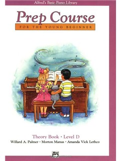 Alfred's Basic Piano Prep Course Theory: Book D Books | Piano