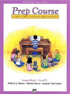Alfred's Prep Course Lesson Book Level D Books | Piano