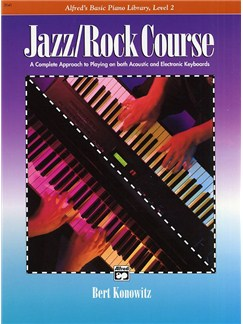 Alfred's Basic Piano Library: Jazz/Rock Course Level 2 Books | Piano
